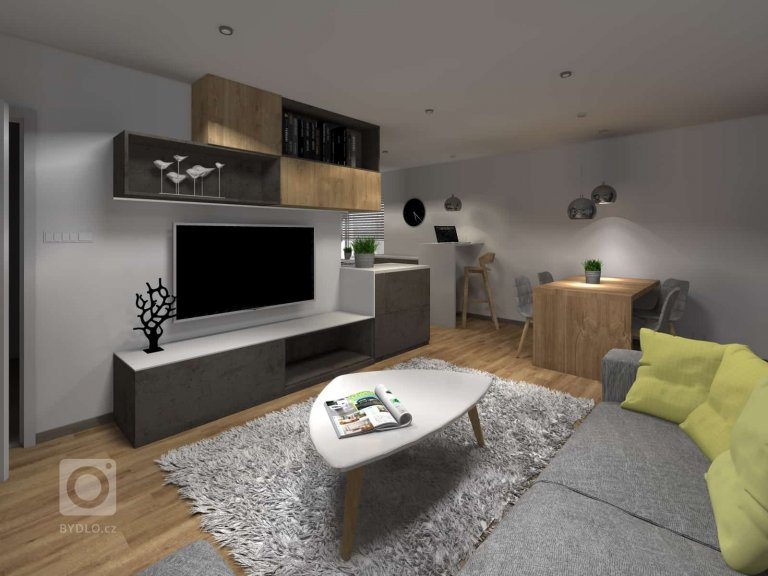Přestavba bytu 3 + 1