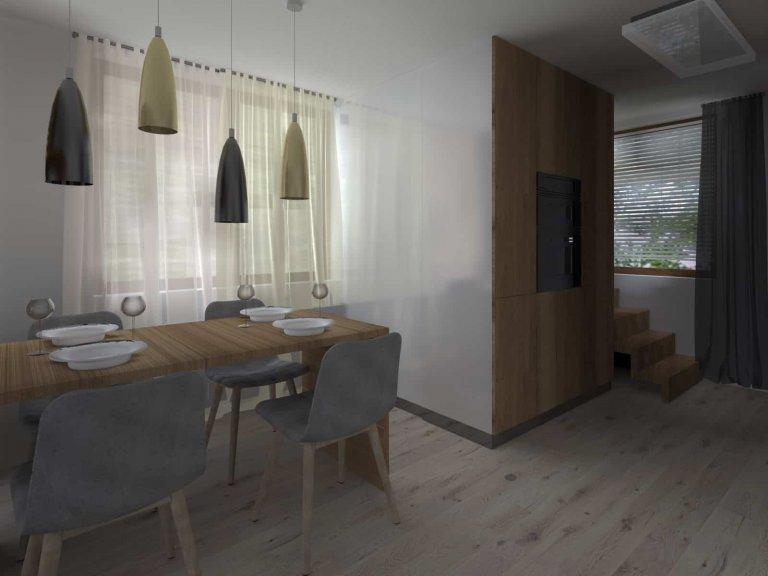 Mezonetový bytse nachází v rodinném domě aje reprezentativním příkladem dvougeneračního bydlení. Část rodinného domu,tedy 2. podlaží a…
