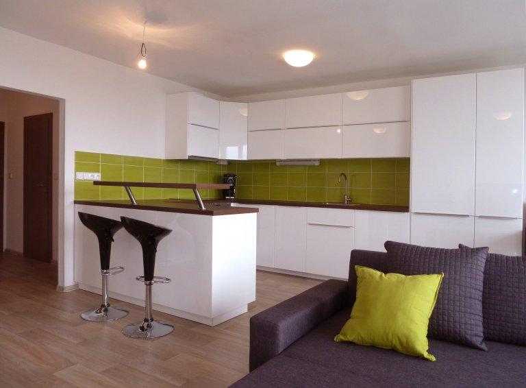 Interiér bytu pro mladou rodinu