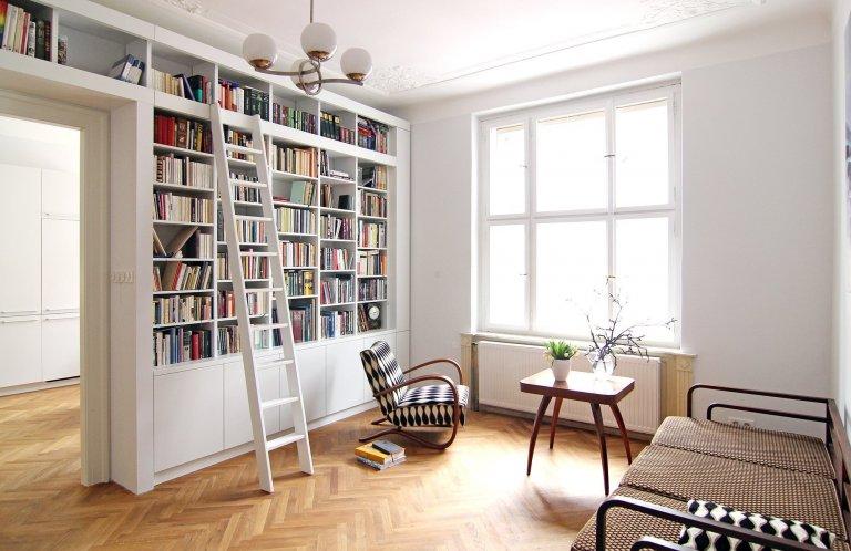 Interier bytu na Letné