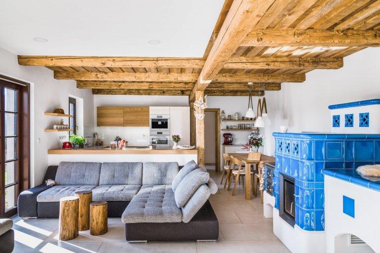 Moderní kuchyně pro rodinný život na venkově