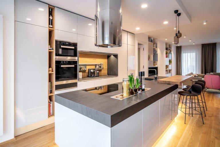 Kuchyně s využitím úložného prostoru