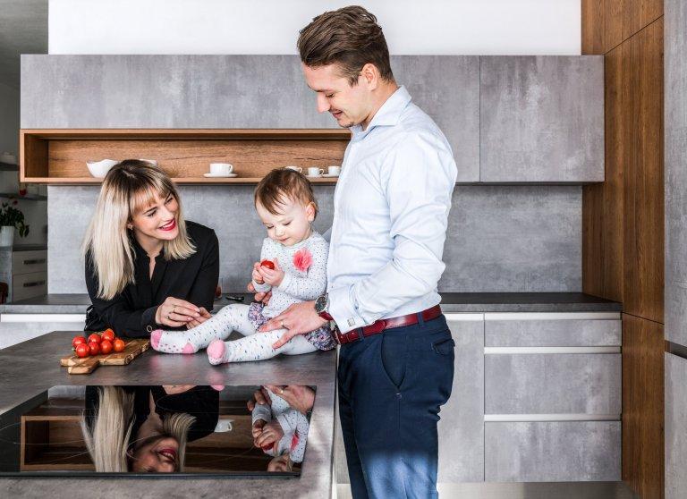 Beton - originalita vaší kuchyně
