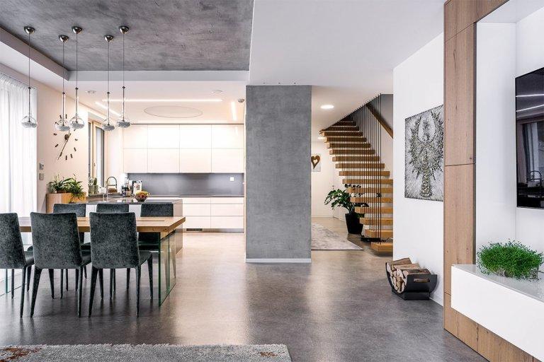 Moderní čistý design interiéru