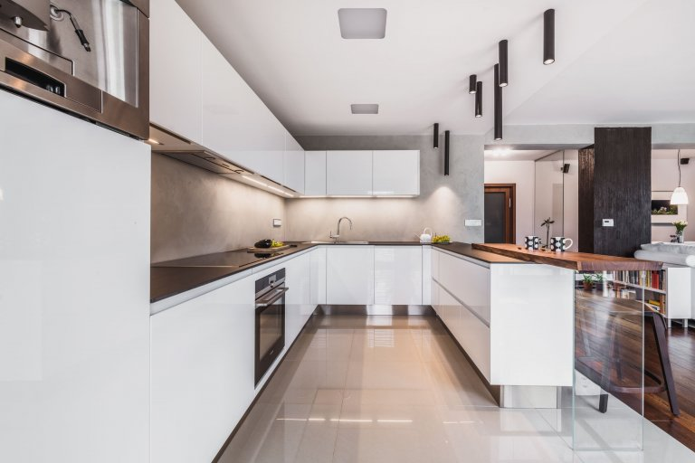 Kuchyně Prémium | White Gloss