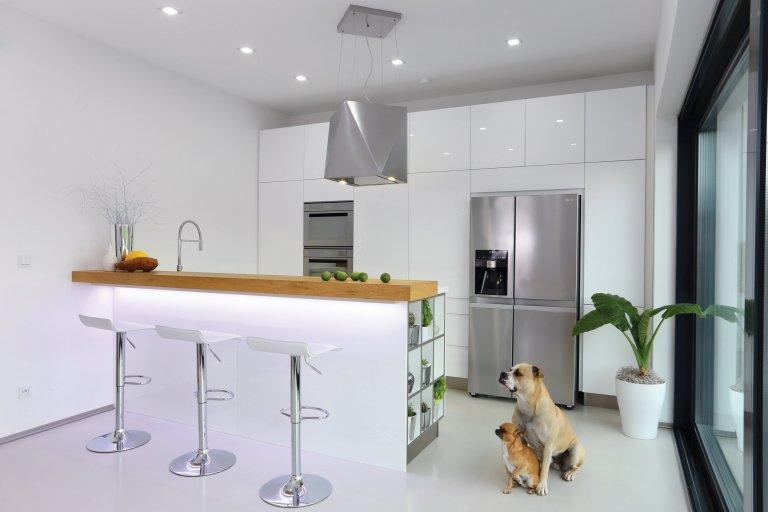Kuchyně v moderním RD