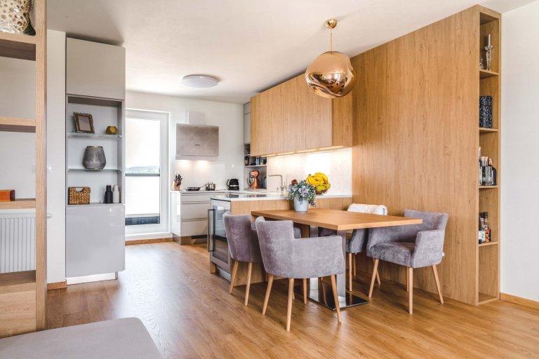 Kuchyně úsporná prostorem, velkorysá nápady