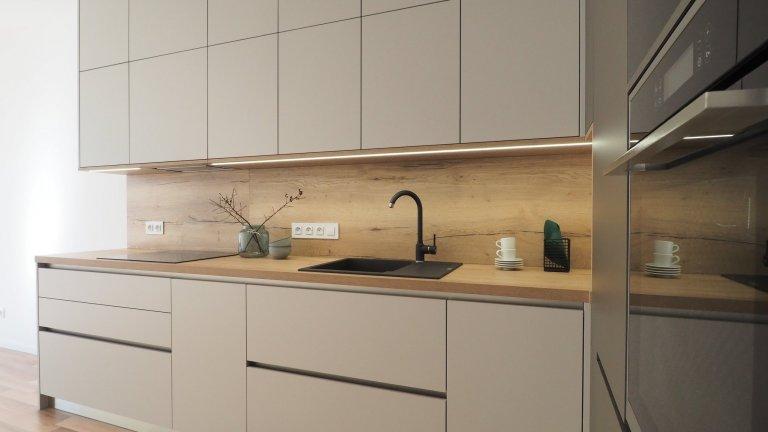 Kompletní rekonstrukce bytu v novostavbě developerského projektu.