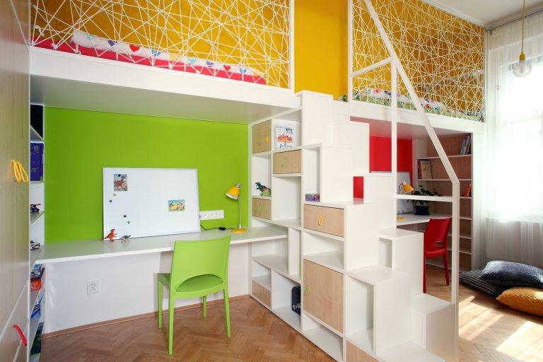 Dětský pokoj, Praha